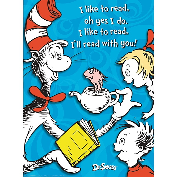Cat In The Hat Reading Quote 1 Picture Quote #1