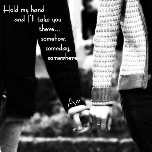 Holding Hands Quote 6 Picture Quote #1