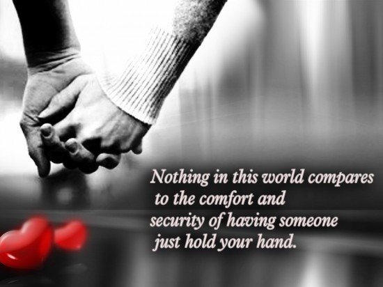 Holding Hands Quote 9 Picture Quote #1
