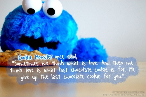 Cookie Monster Quote 2 Picture Quote #1