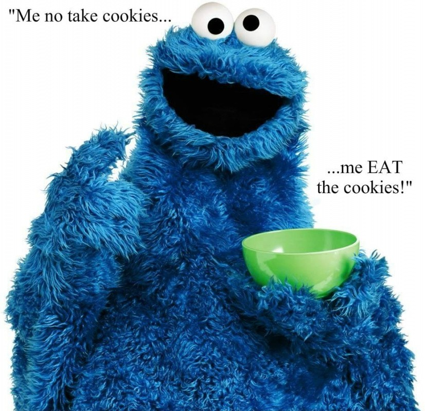 Cookie Monster Quote 4 Picture Quote #1