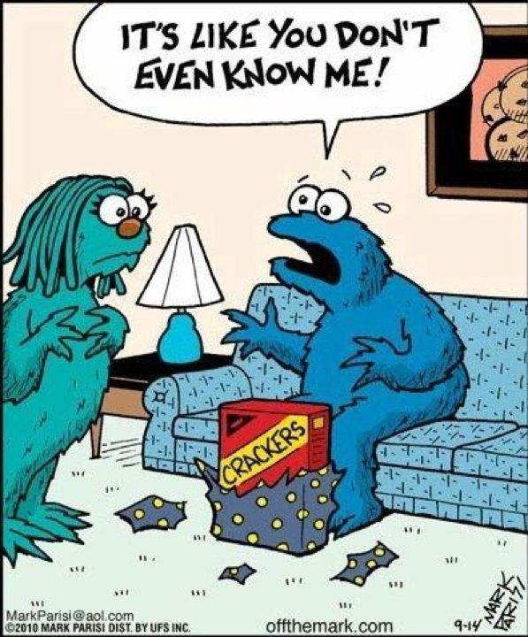 Cookie Monster Quote 7 Picture Quote #1