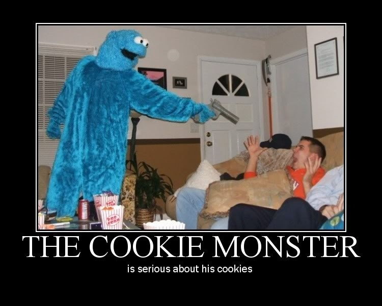 Funny Cookie Monster Quote 1 Picture Quote #1
