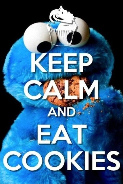 Cookie Monster Quote About Cookies 1 Picture Quote #1