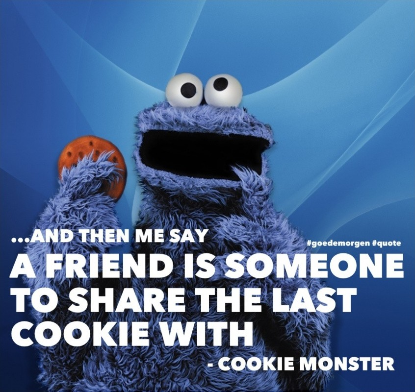 cookie monster quotes - 846×800