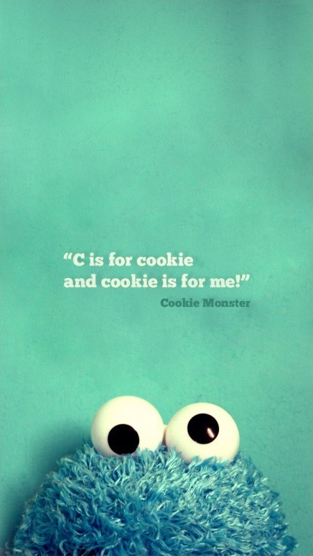 Cookie Monster Quote 20 Picture Quote #1