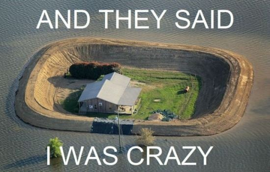 And they said I was crazy Picture Quote #1
