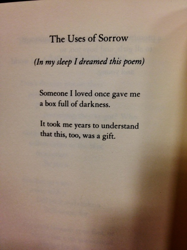 Deep Sorrow Quote 1 Picture Quote #1