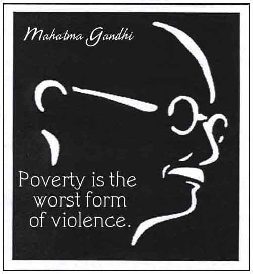 Poverty Quote 1 Picture Quote #1