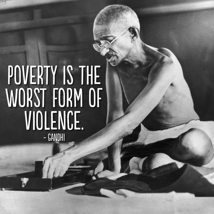 Poverty Quote 1 Picture Quote #2