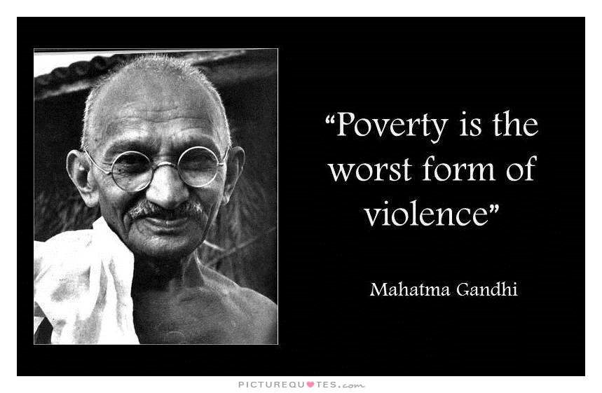 Poverty Quote 1 Picture Quote #3