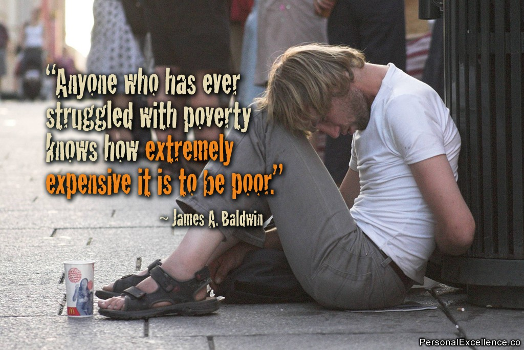 Poverty Quote 2 Picture Quote #1