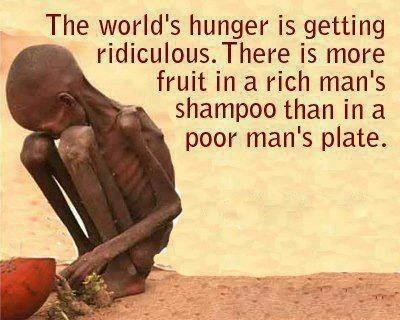World Poverty Quote 2 Picture Quote #1