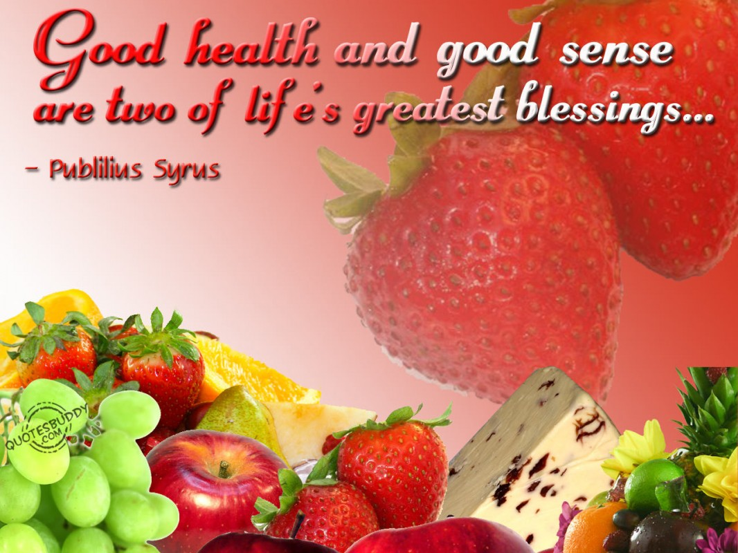 Healthy Quote 1 Picture Quote #1