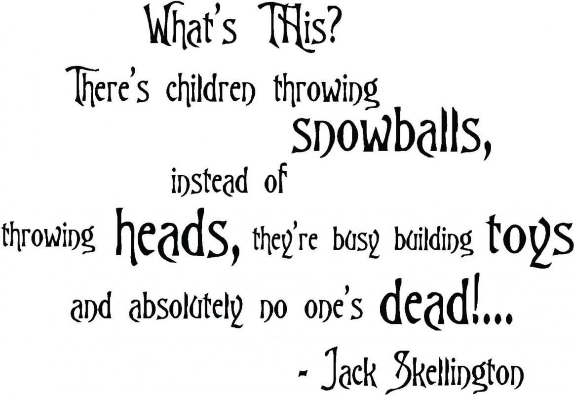 Nightmare Before Christmas Quote 5 Picture Quote #1