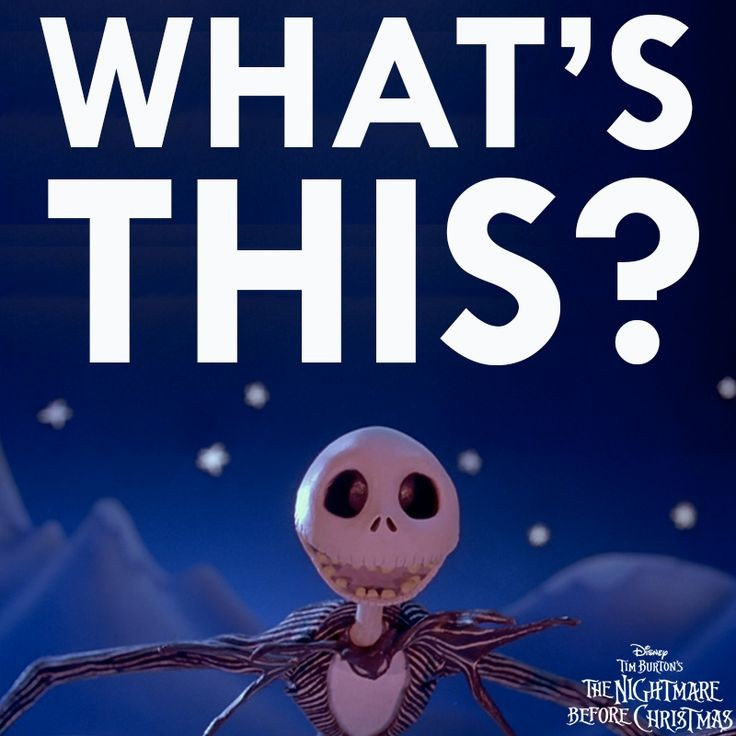 nightmare before christmas movie quote 6 picture quote 1 - Nightmare Before Christmas Whats This