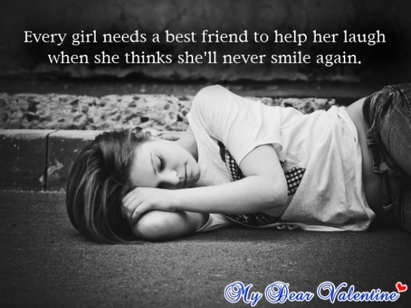 Girl And Guy Best Friend Quote 3 Picture Quote #1