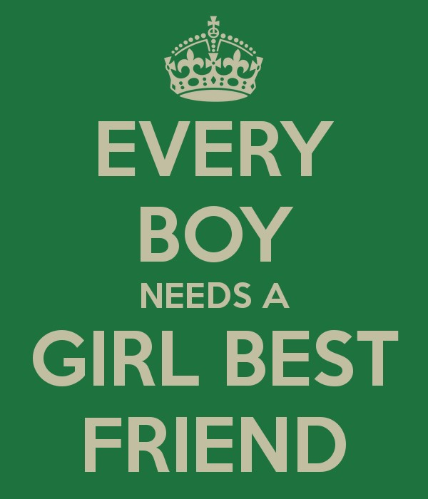 Girl And Guy Best Friend Quote 4 Picture Quote #1
