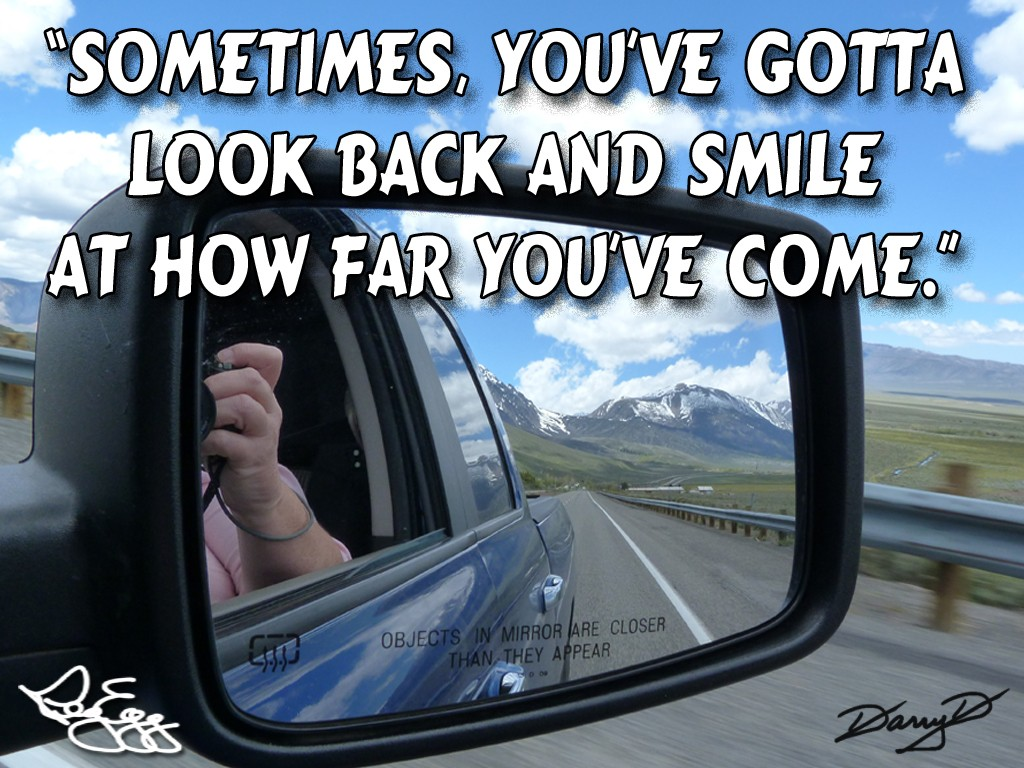 Rearview Mirror Quote 2 Picture Quote #1