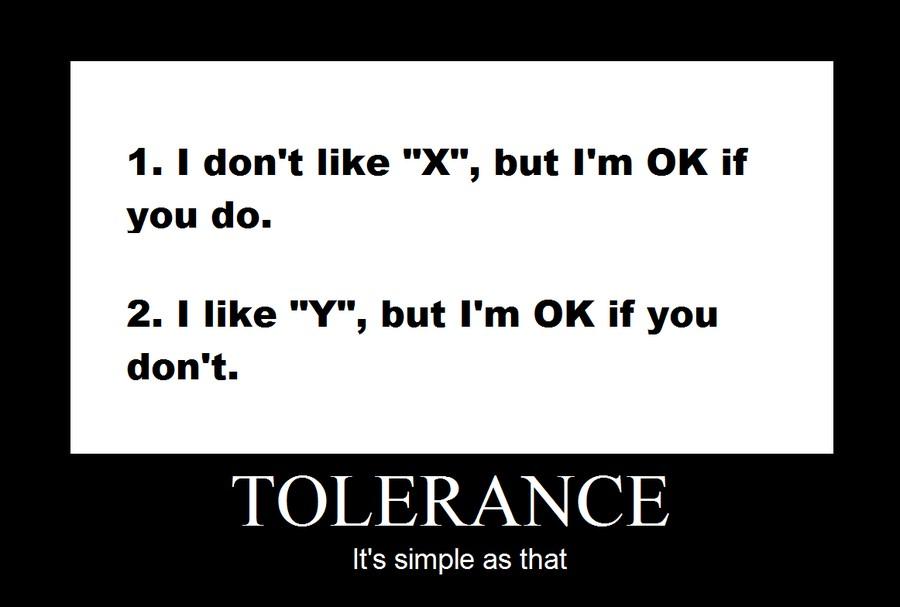 Tolerance Quote 2 Picture Quote #1