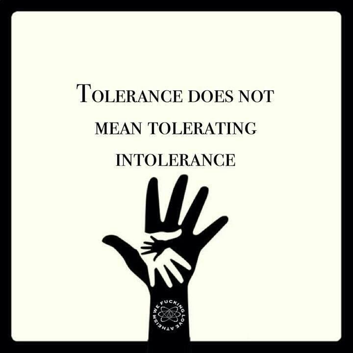 Intolerance Quote 1 Picture Quote #1