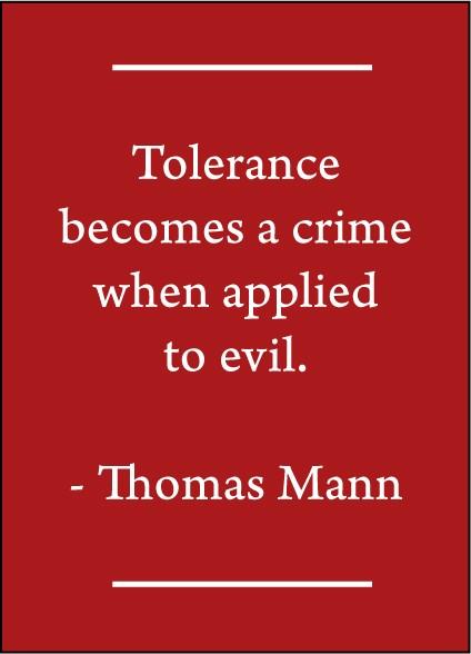 Tolerance Quote 4 Picture Quote #1
