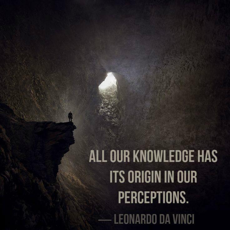 Perception Quote By Leonardo Divinci 1 Picture Quote #1