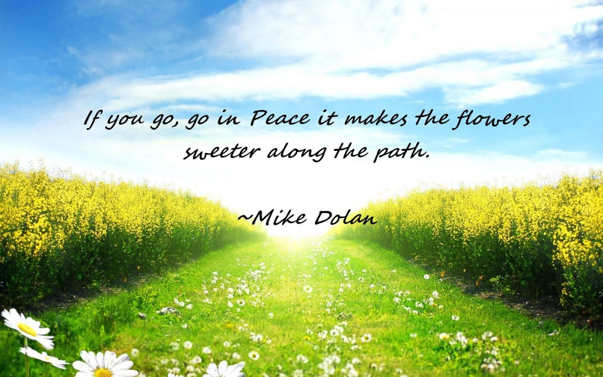 Peaceful Love Quotes Peaceful Quote About Nature  Quote Number 612807  Picture Quotes