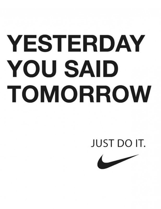 Just Do It Quote | Quote Number 612811 | Picture Quotes