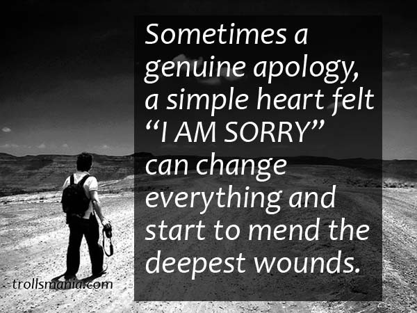 I Am Sorry Quote 10 Picture Quote #1