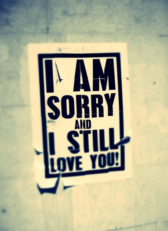 I Am Sorry I Love You Quote 1 Picture Quote #1