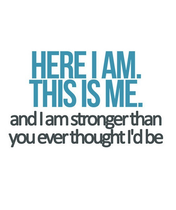 Consider, that I am strong quote realize, told