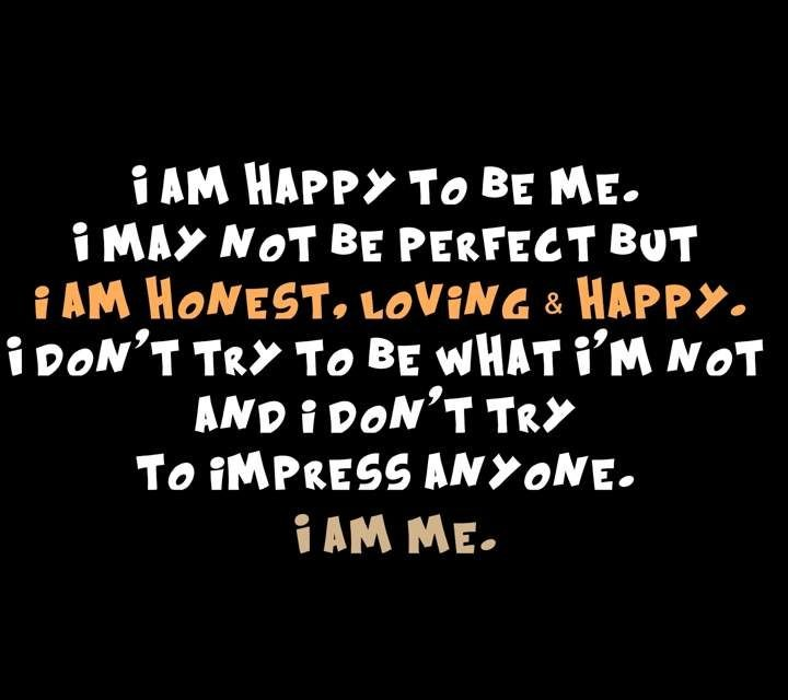 I Am Me Quote 6 Picture Quote #1