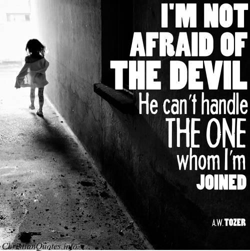 Devil Quote 5 Picture Quote #1