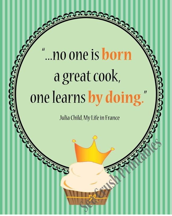 Inspirational Cooking Quote 1 Picture Quote #1