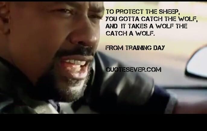 Denzel Washington Quotes Inspiration Denzel Washington Training Day Quote  Quote Number 612927