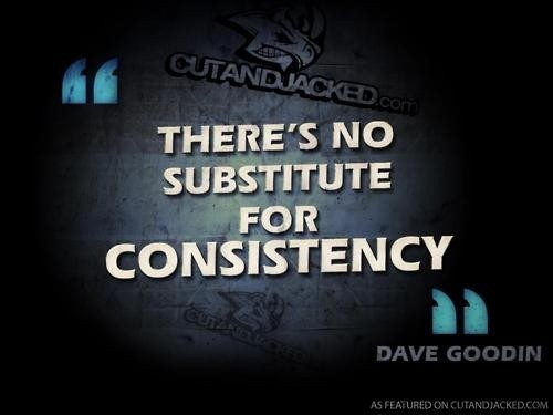 Motivational Quotes Consistency: Quote Number 613215