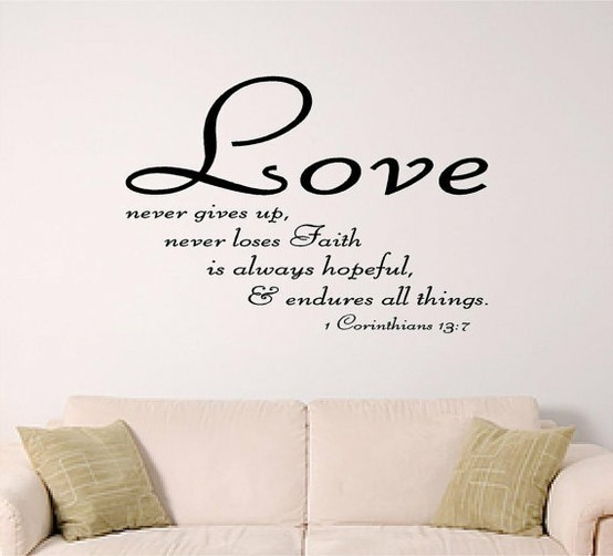 Love Quote From The Bible 1 Picture Quote #1