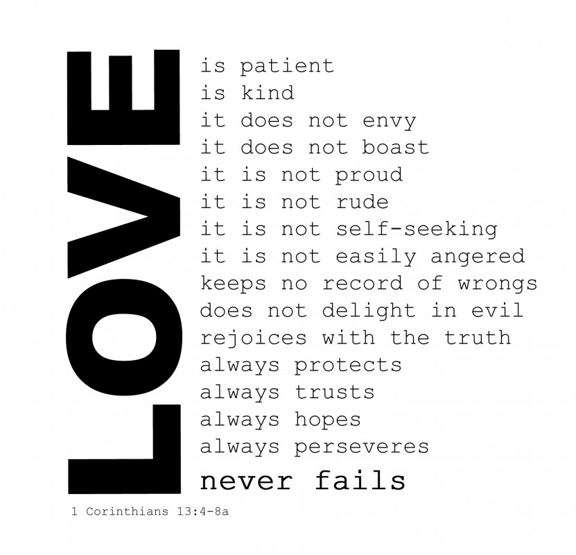 Love Quote From The Bible 2 Picture Quote #1