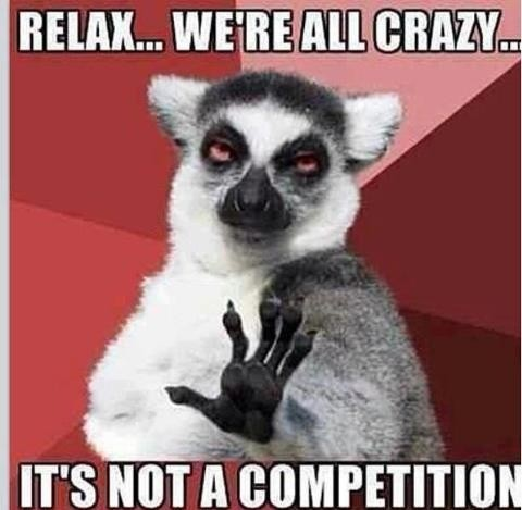 Funny Competition Quote 3 Picture Quote #1