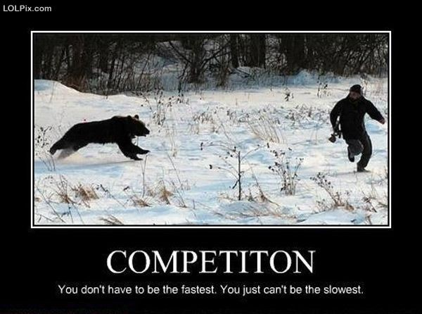Funny Competition Quote 1 Picture Quote #1