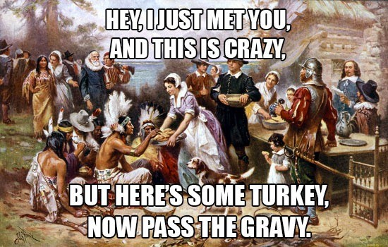 Funny Thanksgiving Quote 12 Picture Quote #1