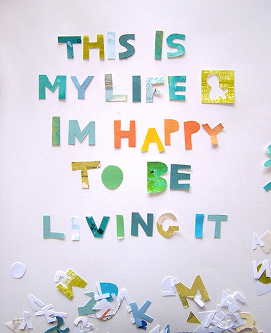 Happy Quote About Life 1 Picture Quote #1