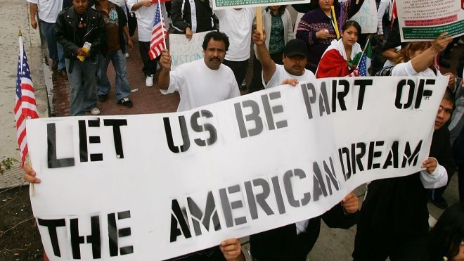 Immigration And American Dream Quote 1 Picture Quote #1