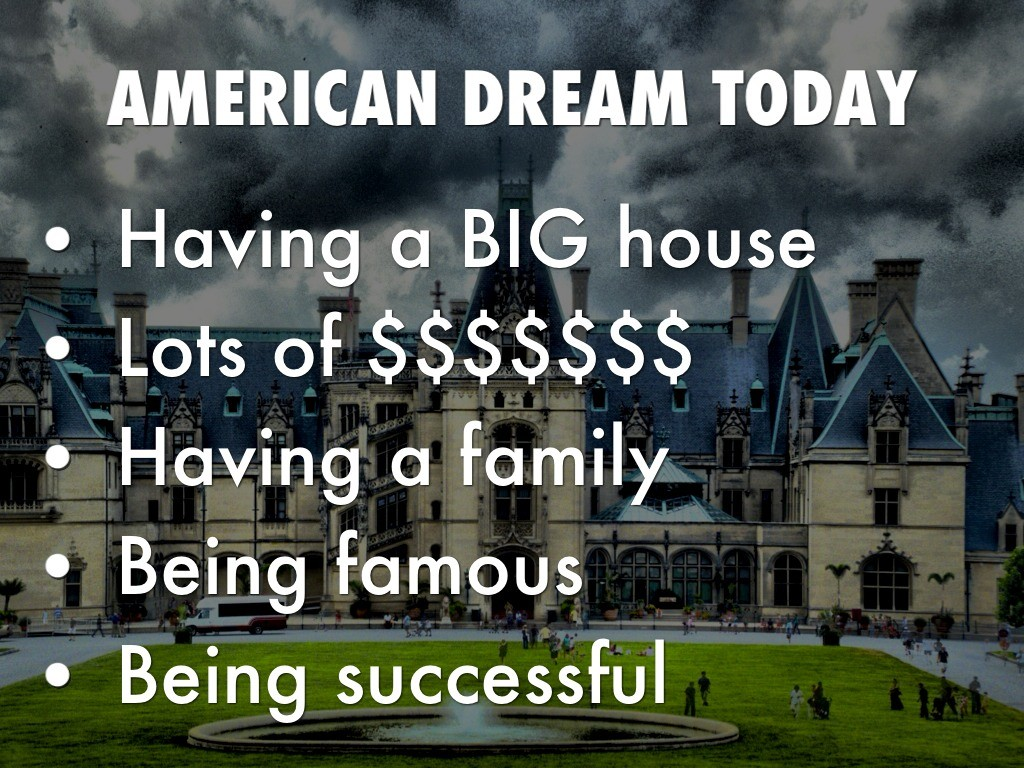 American Dream Quote 3 Picture Quote #1