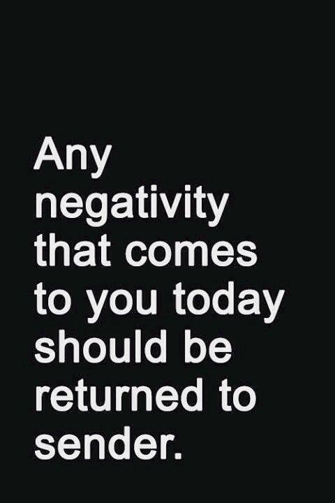 Negativity Quote 5 Picture Quote #1