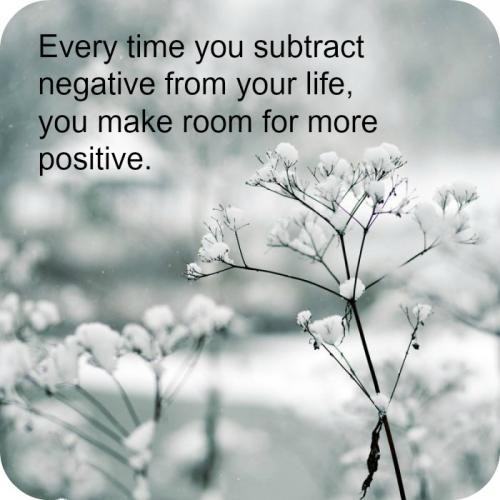 No Time For Negativity Quote 1 Picture Quote #1