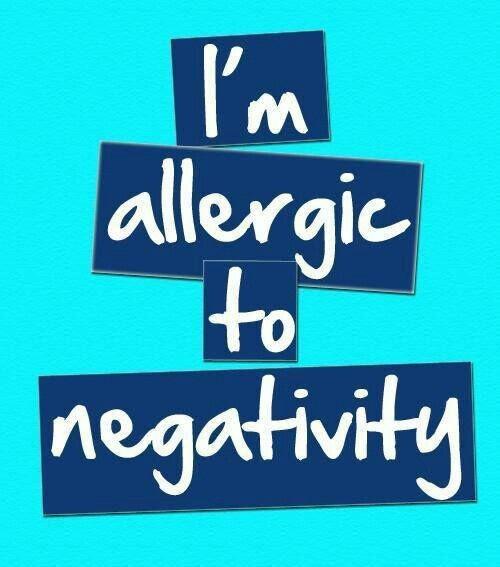 No Negativity Quote 1 Picture Quote #1