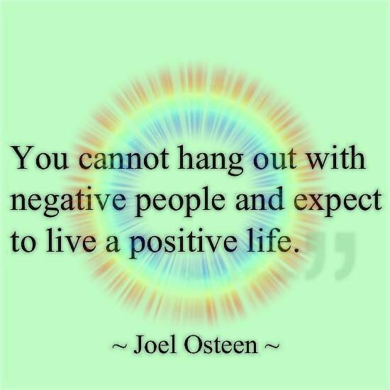 Get Rid Of Negativity Quote 1 Picture Quote #1