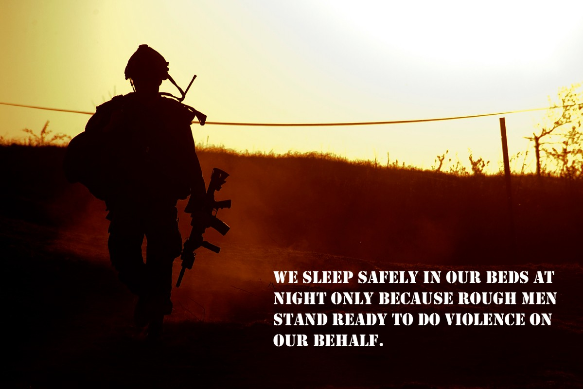 Soldier Quote | Quote Number 613536 | Picture Quotes